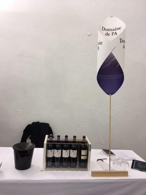 Dégustation rock & wine du domaine de l'A - Salon du livre 17 mars 2016